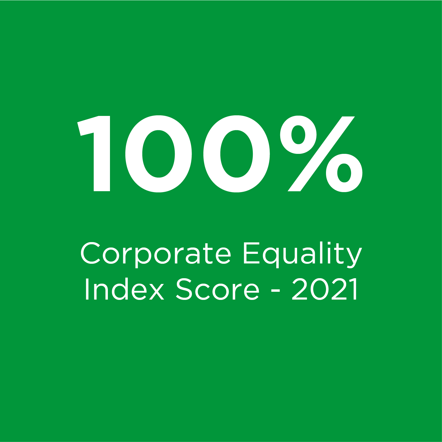 News - 100 - Corporate Equality Index Score - 2020