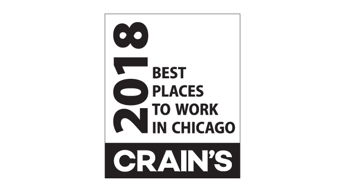 Michael Best Listed as a Best Place to Work in Chicago Photo